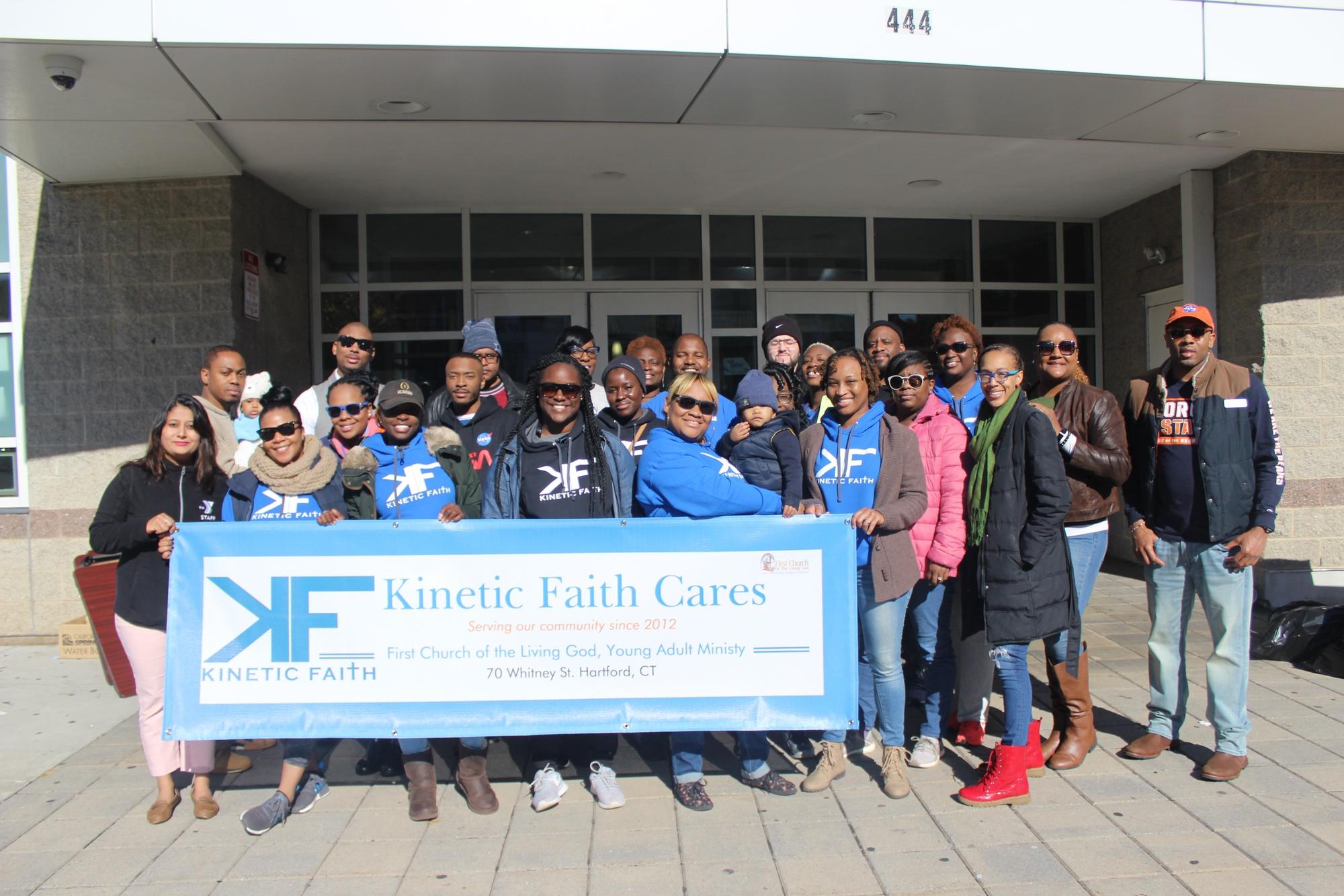 Kinetic Faith Cares Event